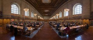 New York Public Library Research Room