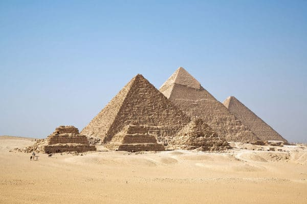 Wake Forest University at All Gizah pyramids on a study abroad