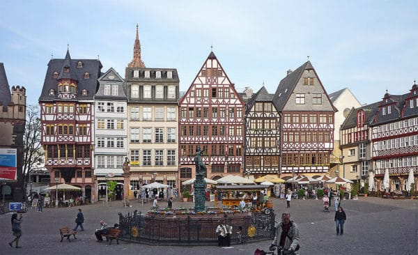 dickinson college at Frankfurt, Germany on a study abroad