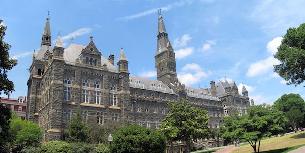 Georgetown online nursing programs